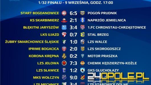 1/32 runda  Wojewódzkiego Pucharu Polski za nami