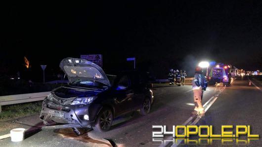 Zderzenie pojazdów na obwodnicy Opola