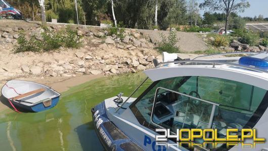 Kolejne zdarzenie na jeziorze nyskim. Mężczyzna wypadł z łodzi