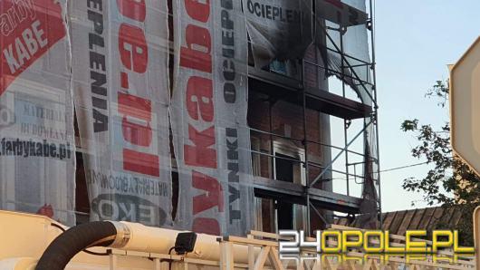 Pożar mieszkania w kamienicy na Armii Krajowej w Opolu