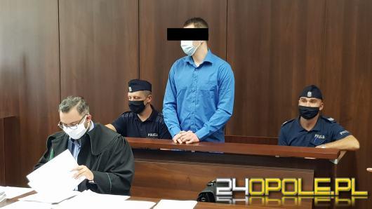 Napad z nożem w ręku w powiecie nyskim. Oskarżony przed sądem