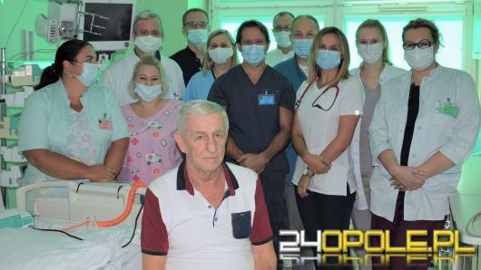 Zespół lekarzy oddziału kardiologii i anestezjologii USK przeprowadził historyczny zabieg