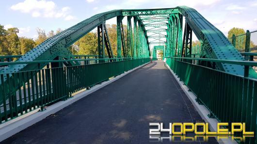 Most im. Ireny Sendlerowej już po remoncie. Którędy przejechać rowerem?