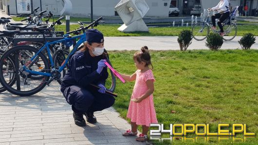 """Opolscy policjanci pokazywali jak """"świecić przykładem"""""""