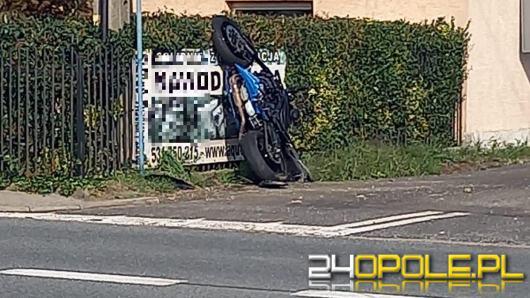 Motocyklista zginął w wypadku w Lędzinach