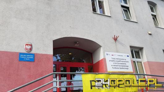 Koronawirus w biurze Miejskiego Ośrodka Pomocy Rodzinie w Opolu