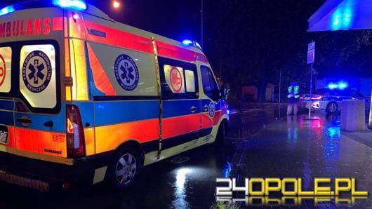 Potrącenie pieszego na ulicy Braci Kowalczyków w Opolu