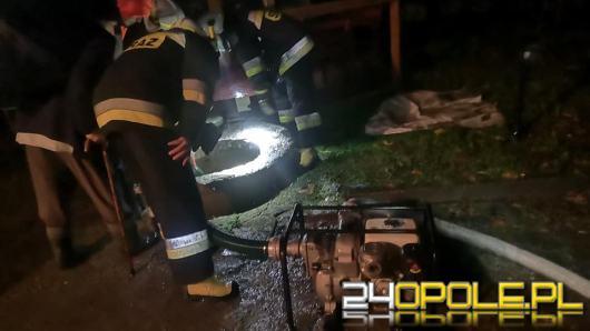 Sytuacja po ulewach - ponad 70 interwencji straży