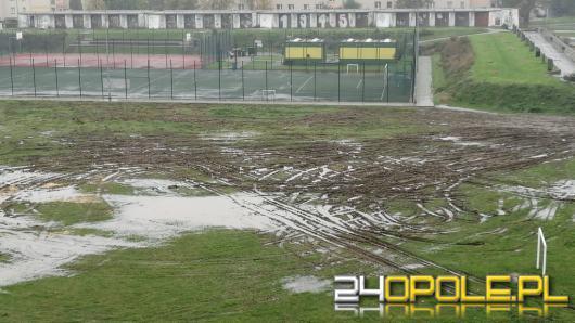 Tak wygląda zielony teren po wizycie cyrku