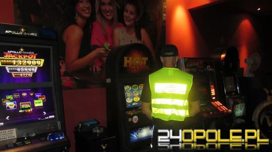 5 nielegalnych automatów do gier hazardowych ujawniono w powiecie prudnickim