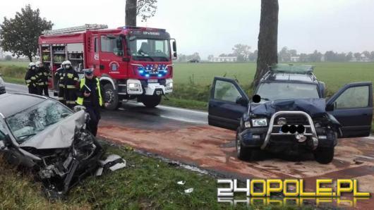 3 osoby ranne po wypadku w powiecie namysłowskim