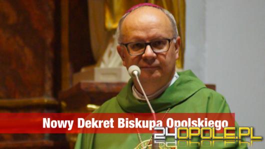 Biskup Andrzej Czaja wydał nowy dekret dotyczący trwającej pandemii