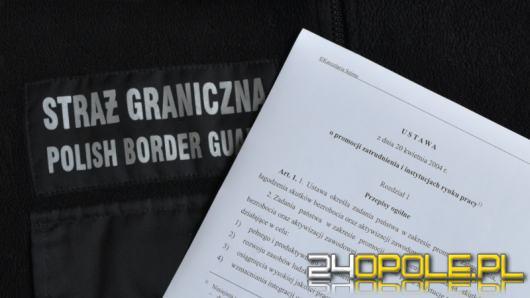 Obywatel Algierii nielegalnie pracował na terenie województwa opolskiego