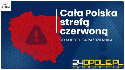 Cała Polska czerwonej strefie. Pamiętajmy o maseczkach
