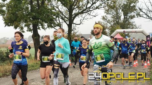 """Blisko 200 biegaczy pokonało trasę """"Turawskiej Siódemki"""""""