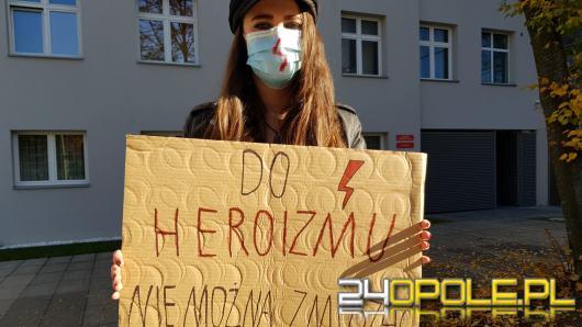 Studenci medycyny w Opolu dołączyli do strajku