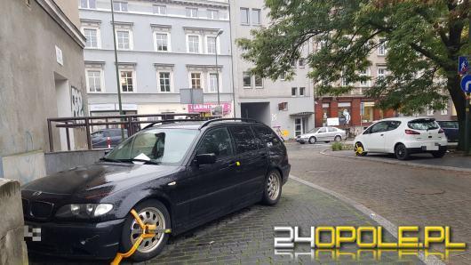 Blokady na kołach opolskich samochodów. Ile interwencji straż miejska odnotowała w tym roku?