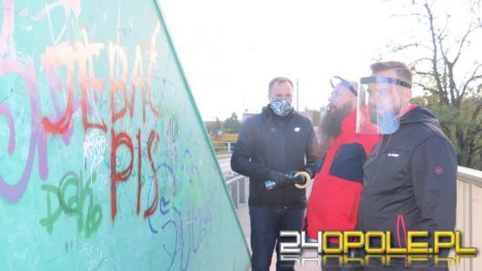 Burmistrz Bartłomiej Stawiarski apeluje o zaprzestanie aktów wandalizmu w Namysłowie