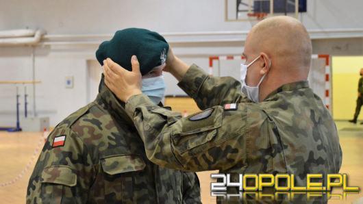 Mimo pandemii przyszli żołnierze chętnie zgłaszają się na kurs służby przygotowawczej