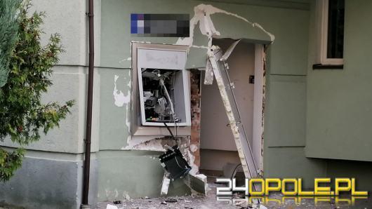 Kolejny bankomat padł ofiarą złodziejów. Tym razem w Wołczynie