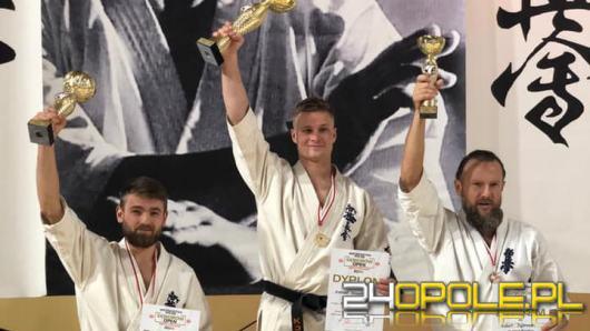 Karatecy z Opolskiego Klubu Karate Kyokushin ze złotymi medalami Mistrzostw Polski