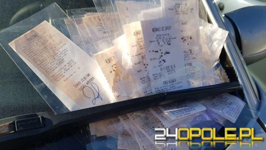 Opolski rekordzista uzbierał 424 wezwania do zapłaty za postoje na płatnej strefie parkowania
