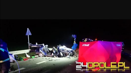 Śmiertelny wypadek w Bierzowie. Nie żyją dwie osoby