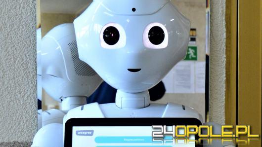 Robot udzieli niezbędnych informacji pacjentom USK