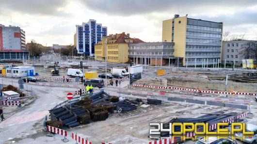Uwaga kierowcy. Zmienia się organizacja ruchu przy budowie Opole-Wschodnie