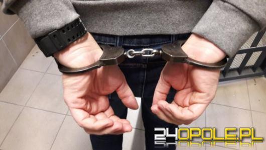 Aresztowany za szereg włamań