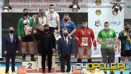 Opolanie wracają z workiem medali z Mistrzostw Polski w podnoszeniu ciężarów w Biłgoraju