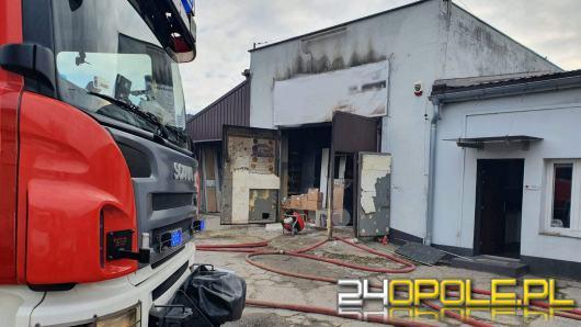 7 zastępów straży interweniowało przy pożarze w obiekcie przy ulicy Budowlanych w Opolu