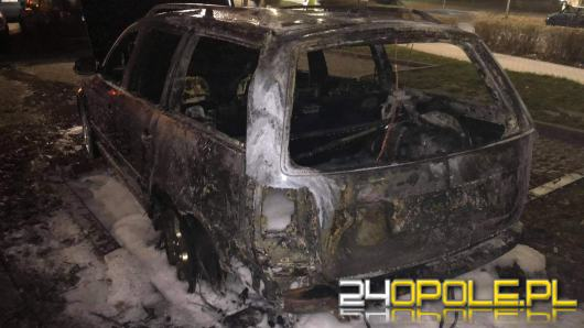 Pożar samochodu osobowego na Chabrach