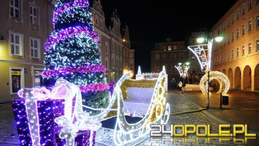 Opole po raz 12. staje do konkursu na najbardziej rozświetlone świątecznie miasto