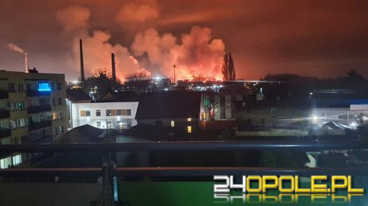 35 ratowników interweniowało w koksowni w Zdzieszowicach. Paliły się przewody elektryczne