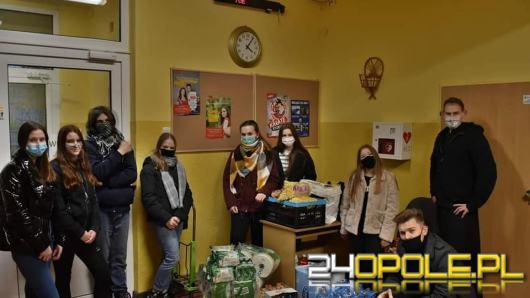 Uczniowie z Niemodlina zorganizowali zbiórkę świąteczną na rzecz szpitali i SZOZ