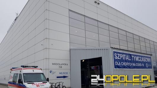 Szpital Tymczasowy w Opolu przyjął pierwszego pacjenta