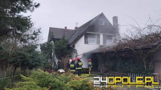 Pożar kotłowni w Tarnowie Opolskim
