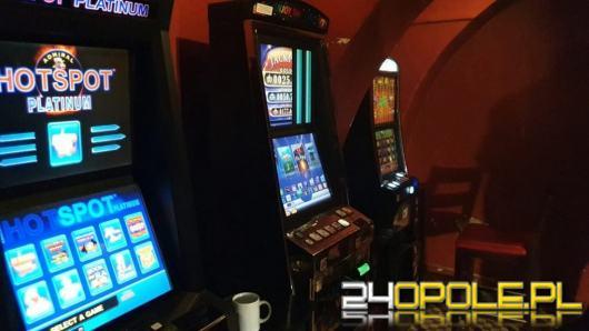 Kolejnych 10 nielegalnych automatów do gier ujawnili funkcjonariusze opolskiej KAS