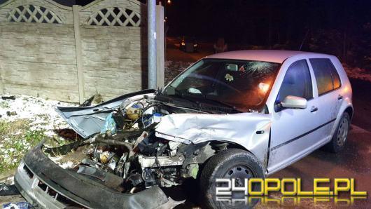 Zderzenie pojazdów w Namysłowie. Sprawca wydmuchał 1,5 promila