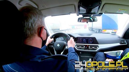 """Połączone siły policjantów grupy """"SPEED"""" na autostradzie A4"""
