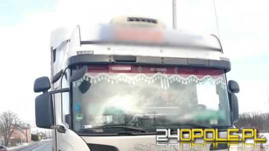 Kierowca rażąco naruszył zasady czasu pracy. Został ukarany