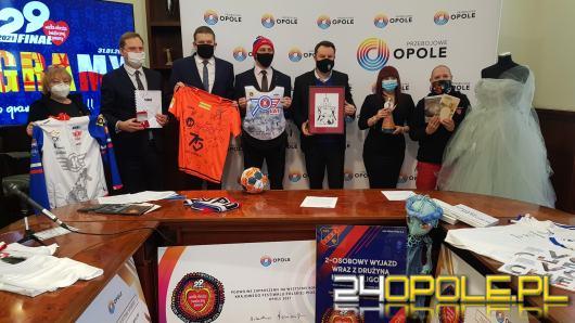 Lawina darów na WOŚP od przedstawicieli Urzędu Miasta Opola