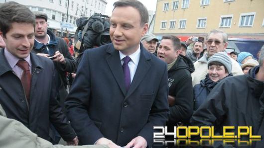 Prezydent Andrzej Duda odwiedzi w czwartek Opolszczyznę