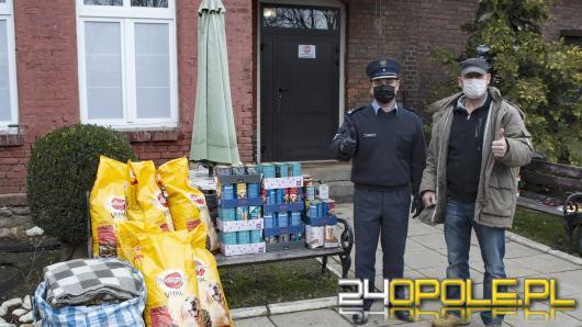 W trudnym czasie dla schroniska z pomocą przyszli pracownicy Zakładu Karnego w Prudniku