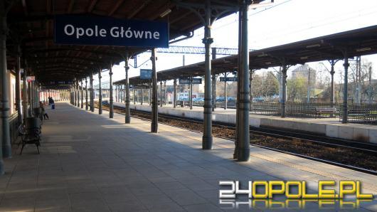 Zaatakował nożem żonę - został zatrzymany na dworcu kolejowym w Opolu