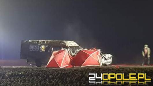 Śmiertelny wypadek na obwodnicy Opola. Zablokowana droga na wysokości Makro