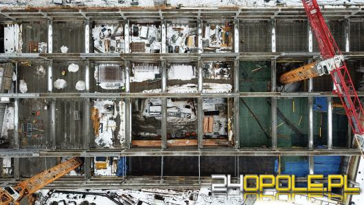 Centrum przesiadkowe Opole Główne pnie się w górę. Otwarcie najszybciej w 2022 roku