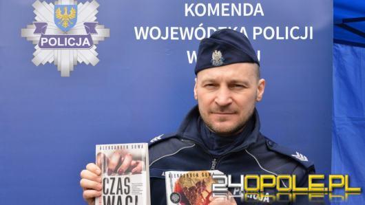 Najnowsza powieść opolskiego policjanta - jego kryminalna seria wielokrotnie nagradzana