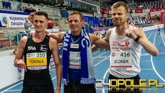 Opolanie z medalami 65. Halowych Mistrzostw Polski